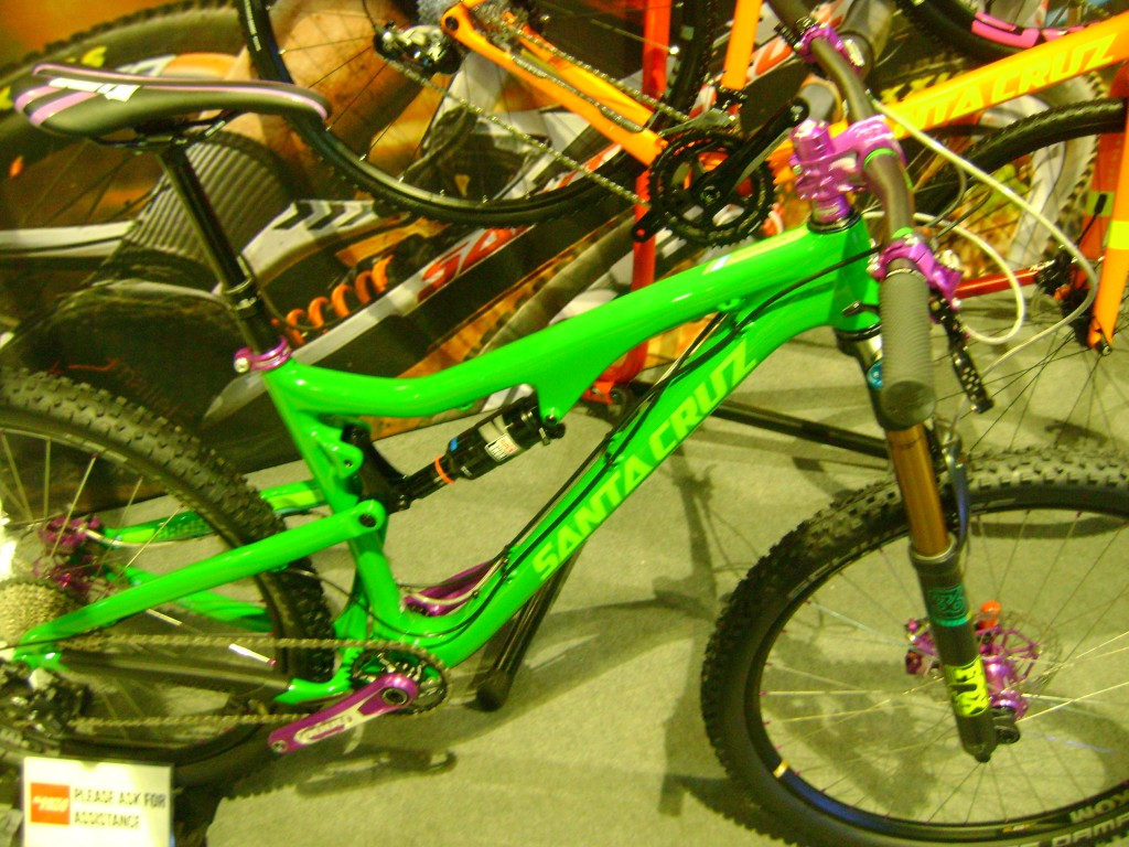 Santa Cruz Bronson green and pruple