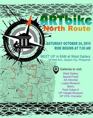 Artbike North route