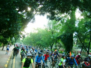 2016 Tour of the Fireflies Marikina City start