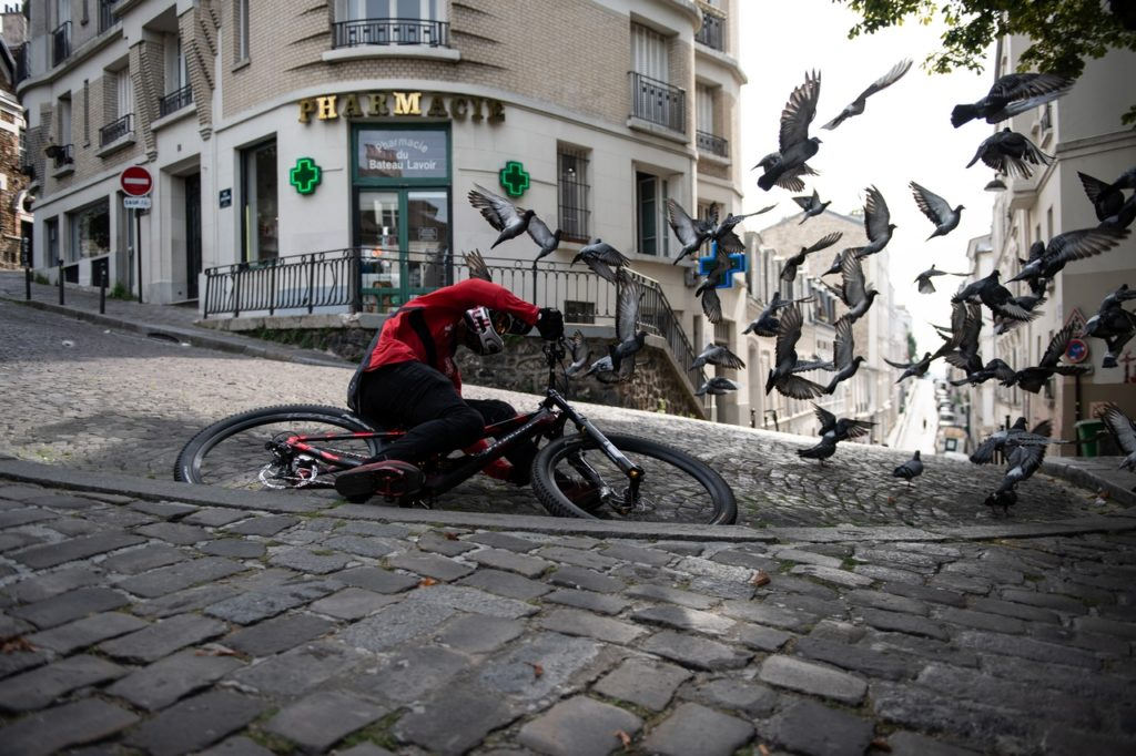 Urban Freeride of Fabio--- Cray cray ride through France!